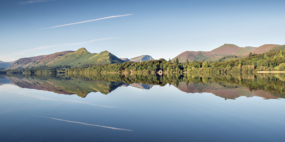 Derwentwater Panorama - The Lake District