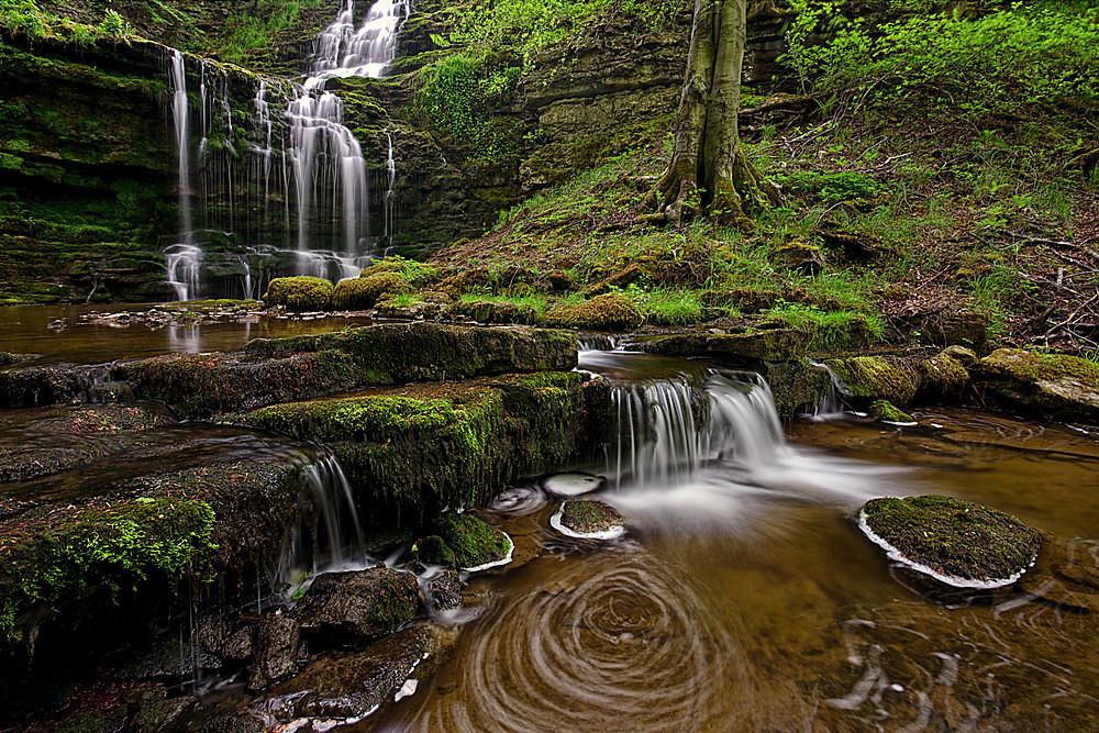 Scalebar Swirls - Waterfalls