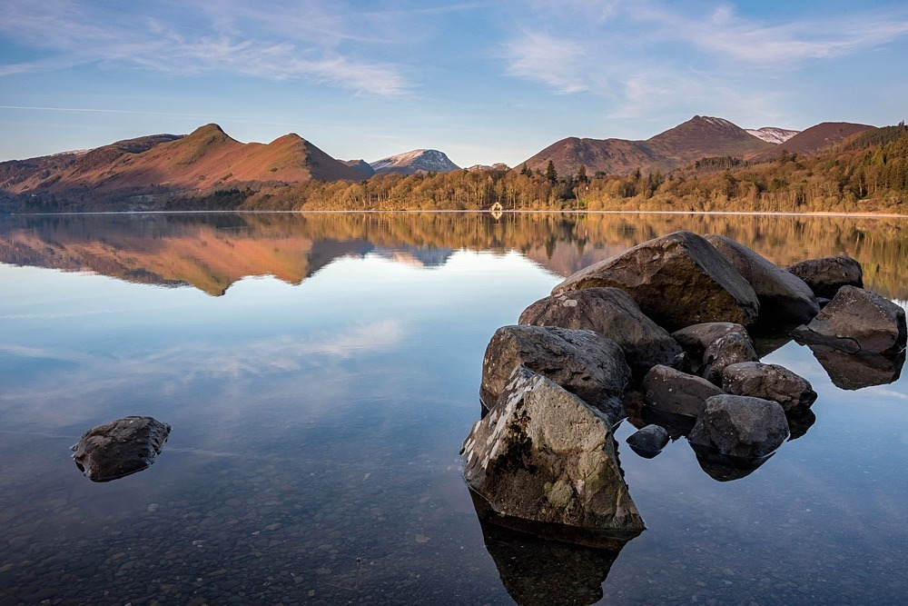 Derwentwater Rock Pile II - The Lake District