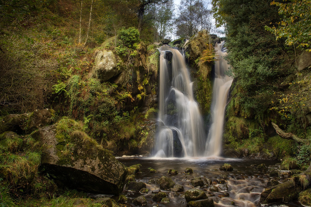 Posforth Ghyll - Waterfalls