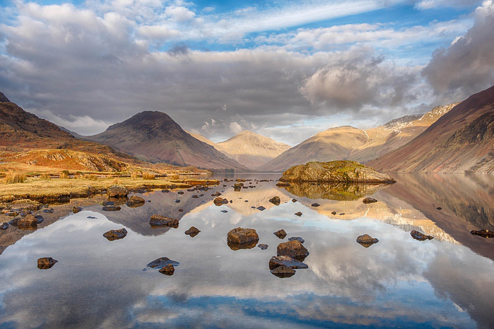 Wastwater Reflections - The Lake District