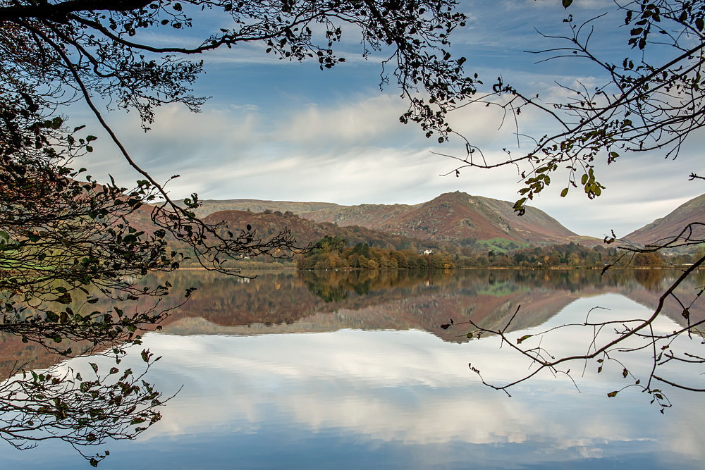 Grasmere Framed - The Lake District