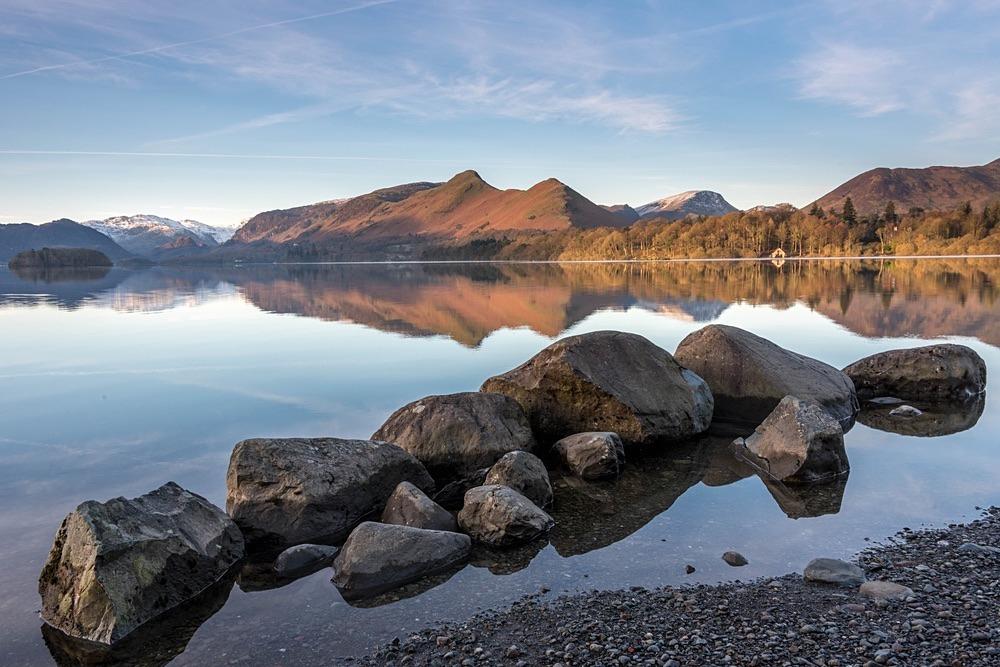 Derwentwater Rock Pile - The Lake District