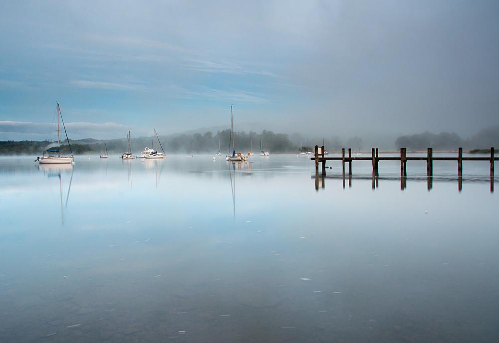 Waterhead Calm - The Lake District