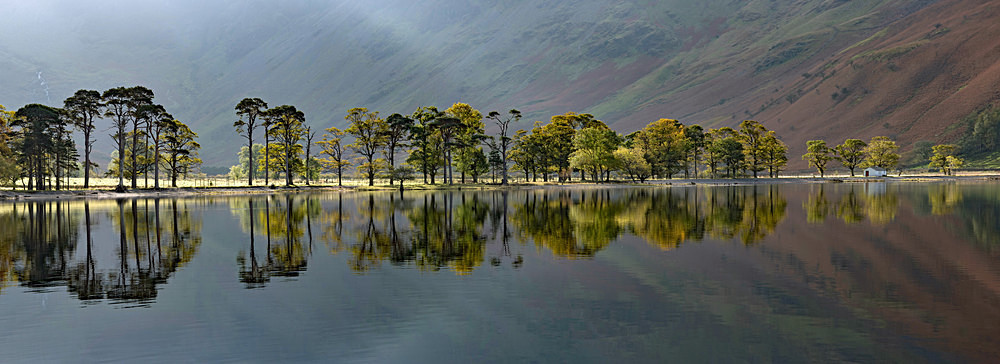 Buttermere Light Panorama - The Lake District