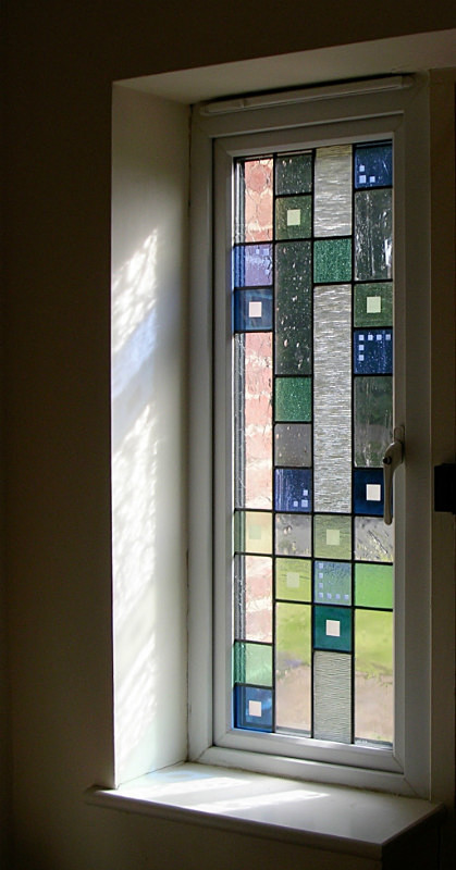 Hall window | Carole Gray | Stained glass commission