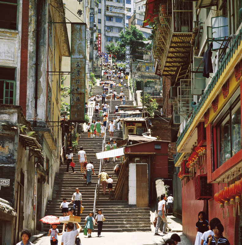 KM-20 Upper Ladder street - 1984 - Hong Kong in the 70s and 80s