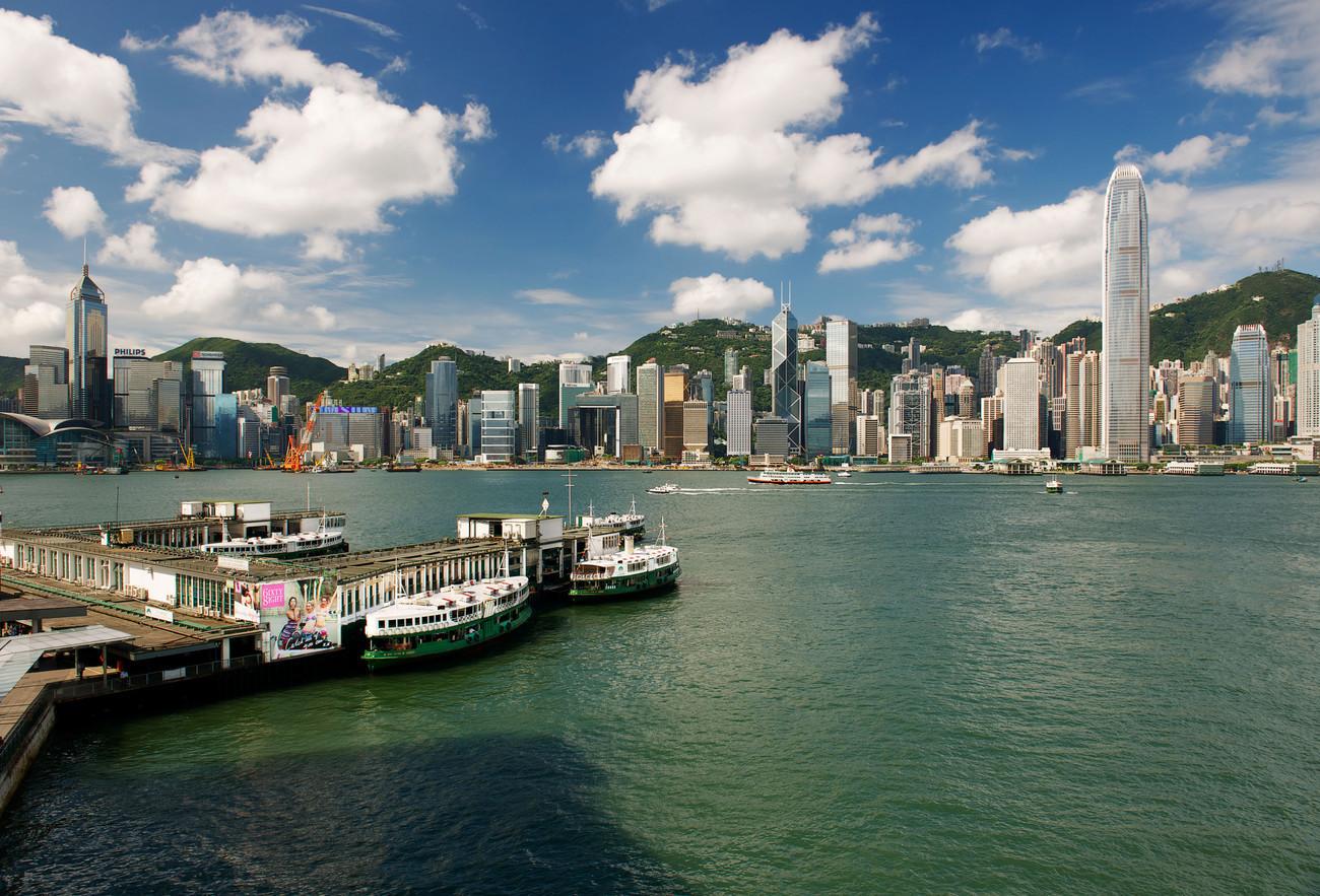 KM-289M Island  Star Ferry from Ocean Terminal - Hong Kong - Contemporary