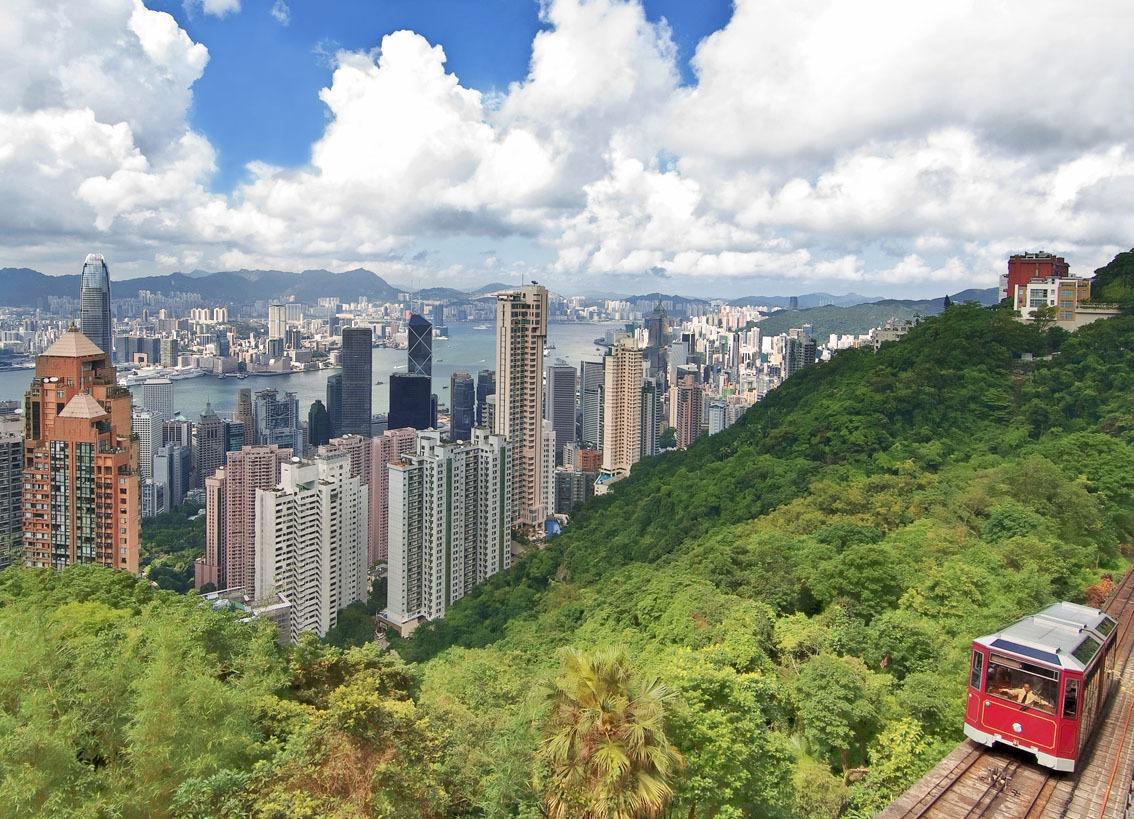 KM-321 Harbour  Peak Tram - 2014 - Hong Kong - Contemporary
