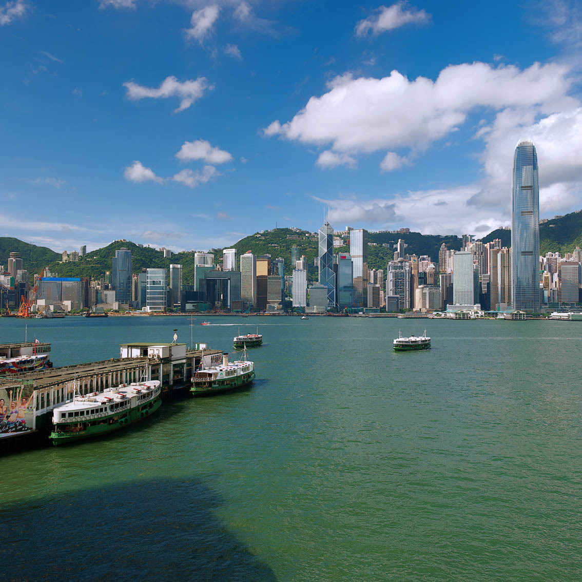 KM-290M  Central from Ocean Terminal - Hong Kong - Contemporary
