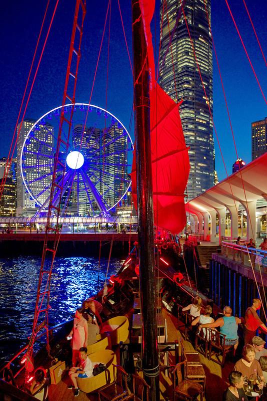 Coming into HK Central on the Aqua Luna DSC_8175 - Hong Kong with the Aqua Luna Junk