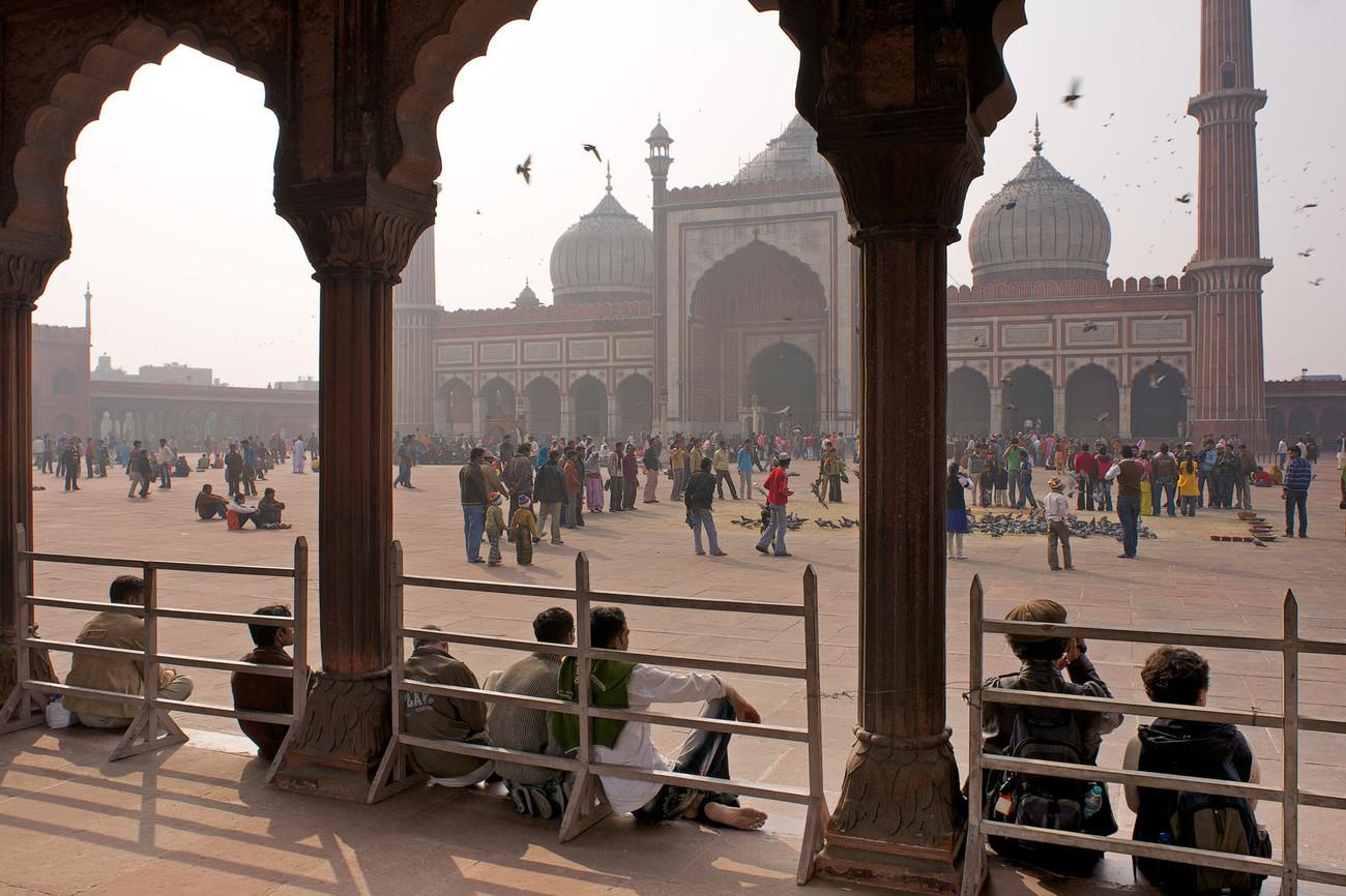 Delhi - Jama Masjid - India