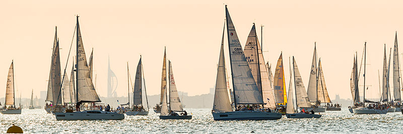 1414 Round the Island Race 2014 - Cowes, Newport and Carisbrooke panoramics