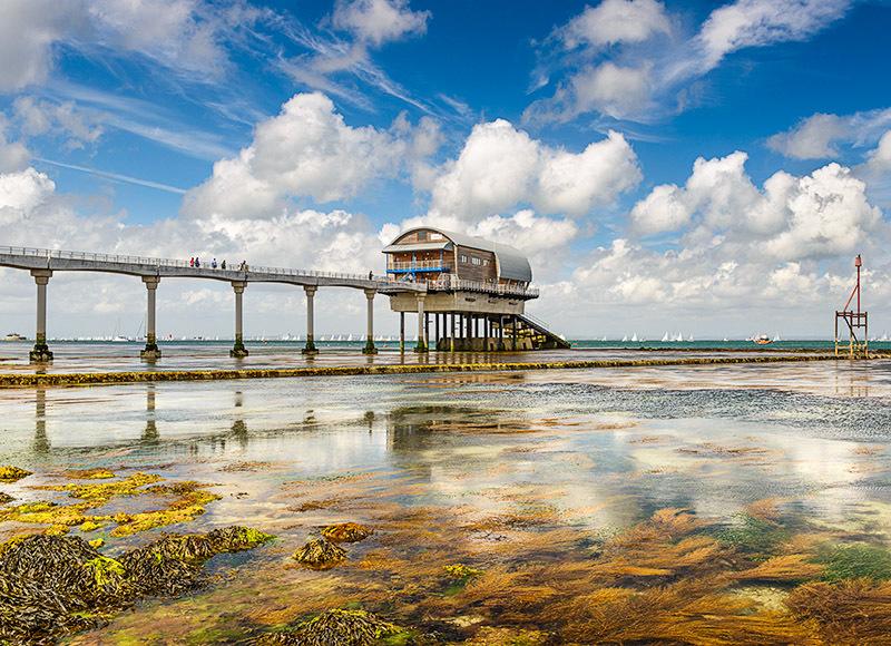 1712 Round the Island Race Bembridge Lifeboat Station - Bembridge and East Wight landscape