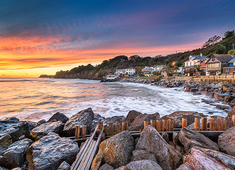 1940 Steephill Cove - Ventnor to St. Lawrence landscapes