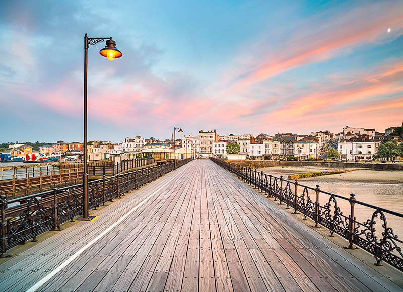 1331 Ryde Pier - Ryde, Havenstreet and Wootton landscapes