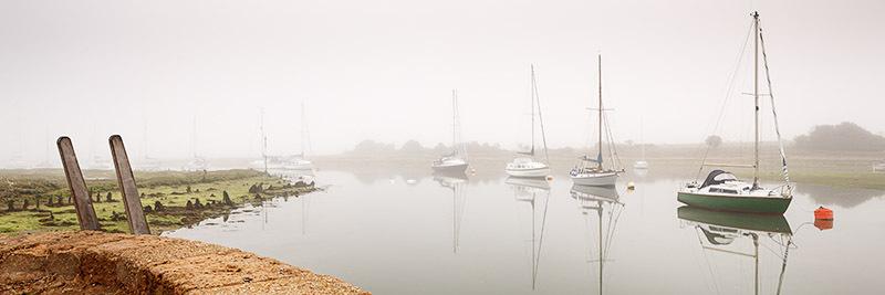 1108 Shalfleet - Totland, Yarmouth and Newtown panoramics