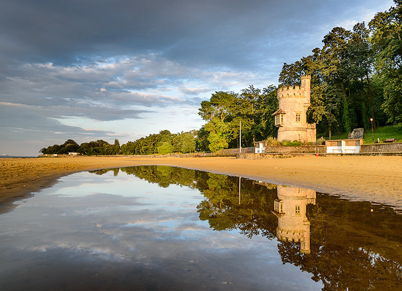 1255 Appley Tower - Ryde, Havenstreet and Wootton landscapes