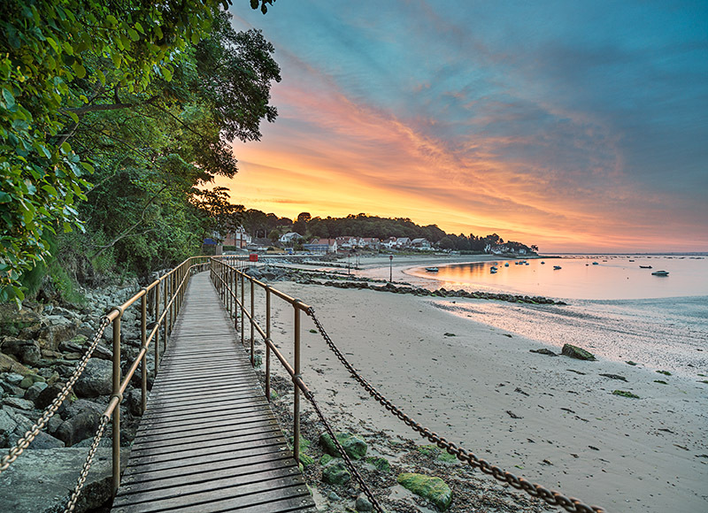 1320 Seagrove Bay - Seaview and Priory Bay landscapes