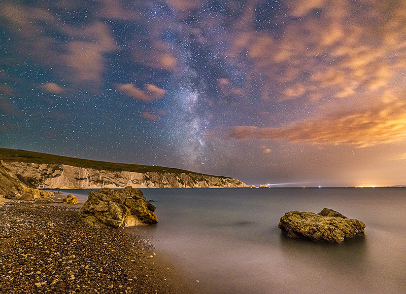 1428 Milky Way The Needles - The Isle of Wight at Night landscapes
