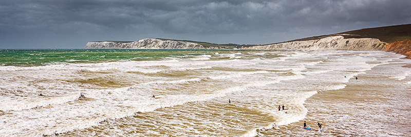 1198 Compton Bay - Compton and West Wight panoramics