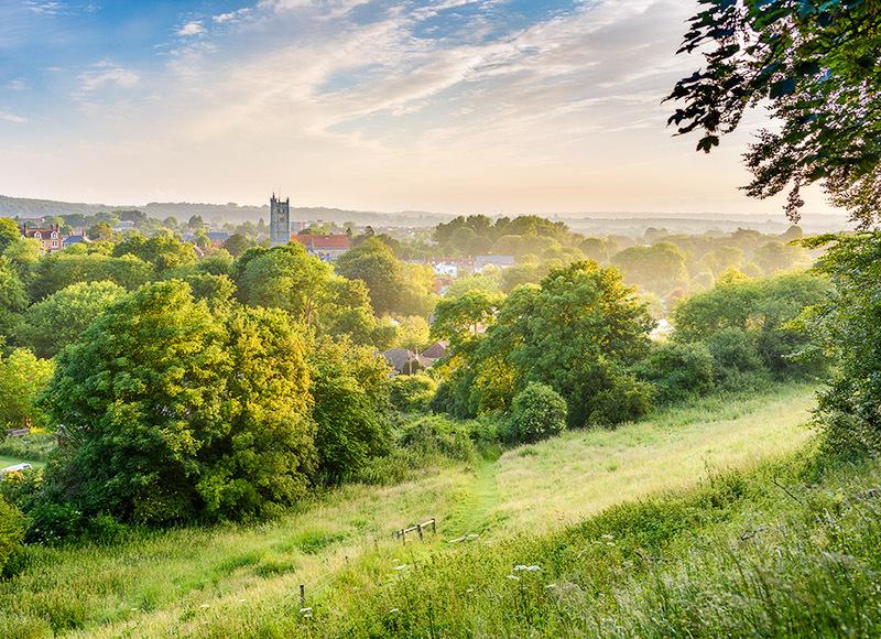 1715 Carisbrooke - Cowes, Newport and Carisbrooke landscapes