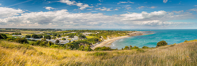 1722 Whitecliff Bay - Bembridge and East Wight panoramics