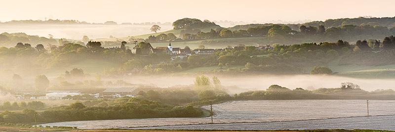1396 Newchurch - Sandown, Shanklin and Godshill panoramics