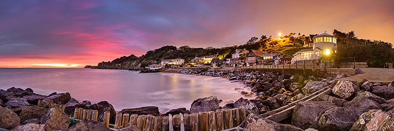 1468 Steephill Cove - Ventnor to St. Lawrence panoramics