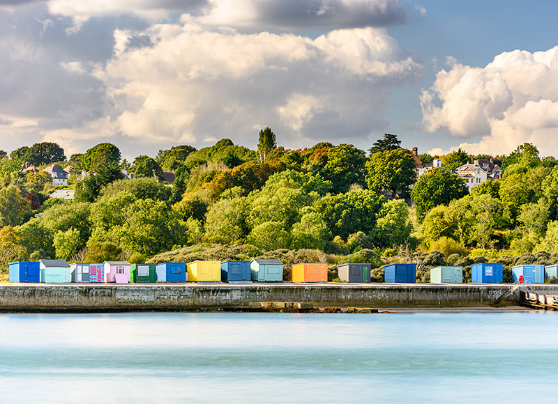 1753 Beach Huts The Duver - Bembridge and East Wight landscape