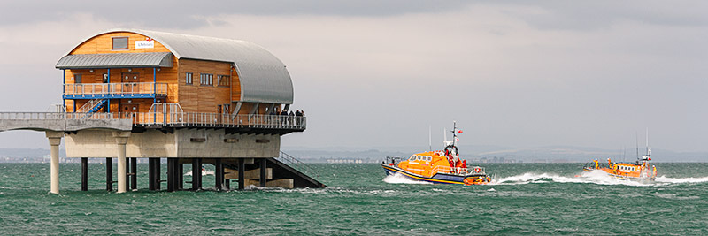 1110 Bembridge Lifeboat Station - Bembridge and East Wight panoramics