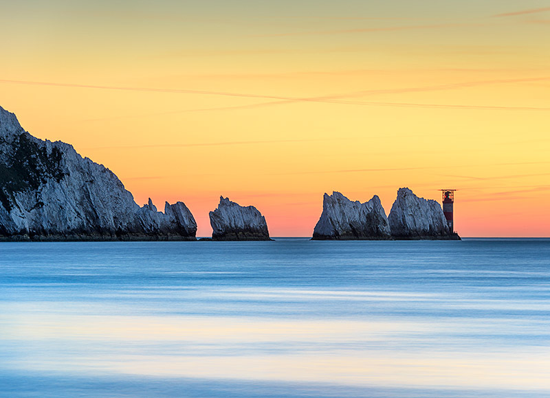 1611 The Needles - Alum Bay and The Needles landscapes