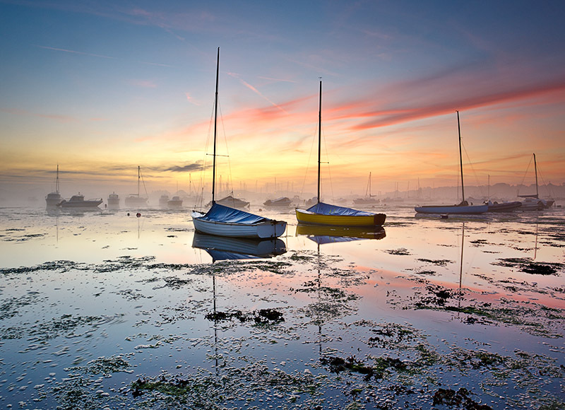 1083 Bembridge Harbour - Bembridge and East Wight landscape