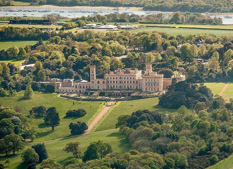 1217 Osborne House - Cowes, Newport and Carisbrooke landscapes