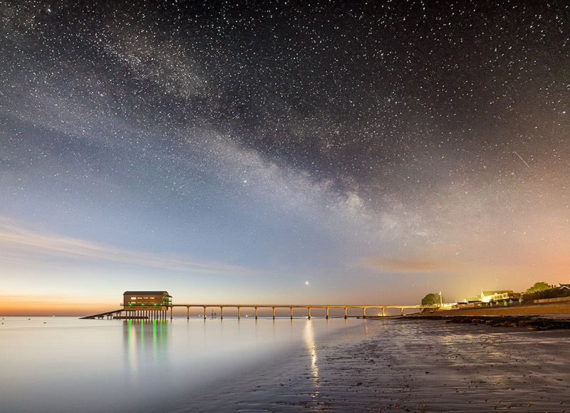 1369 Milky Way Bembridge Lifeboat Station - The Isle of Wight at Night landscapes