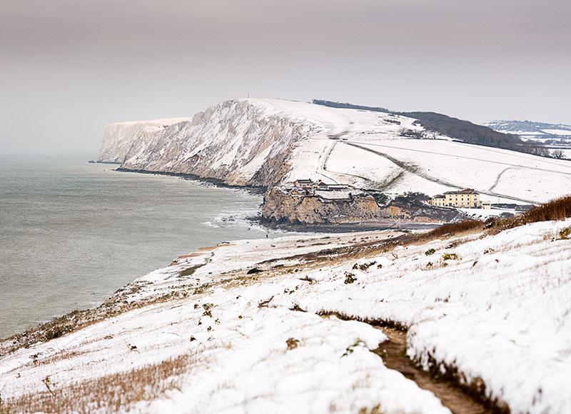 1963 Snow Tennyson Down - Freshwater & Tennyson Down landscapes