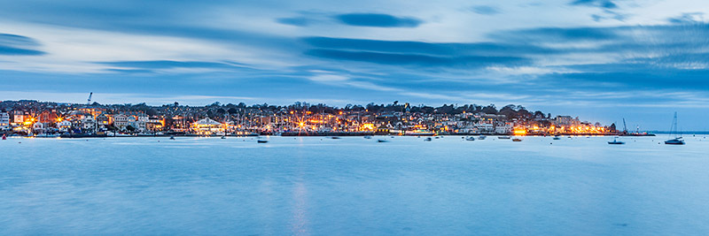 0640 Cowes - Cowes, Newport and Carisbrooke panoramics