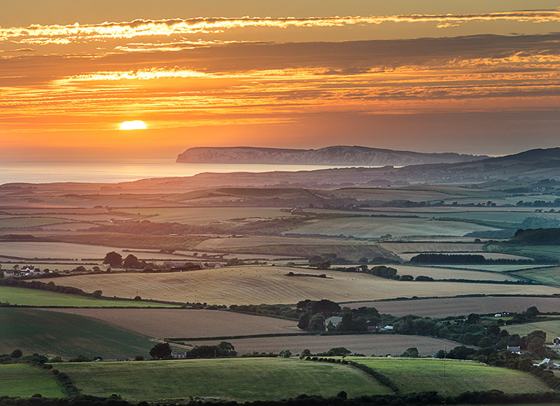 1345 Overlooking West Wight - Compton and West Wight landscapes