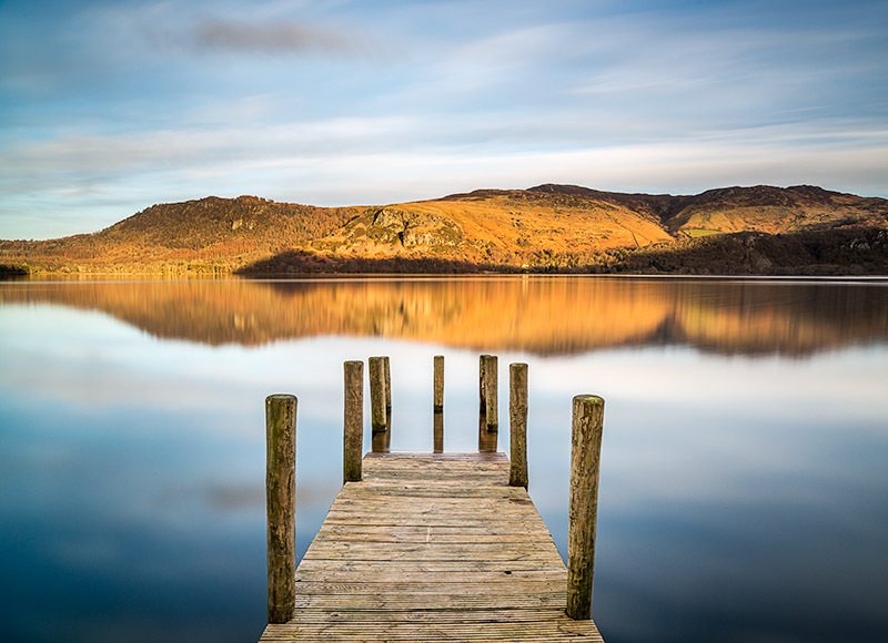 1377 Derwent Water - The Mainland landscapes