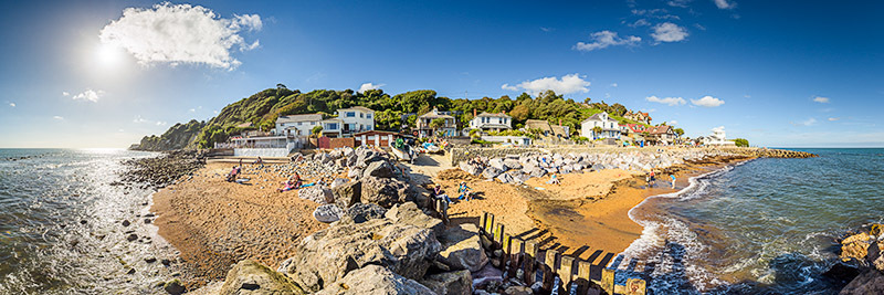 1737 Steephill Cove - Ventnor to St. Lawrence panoramics