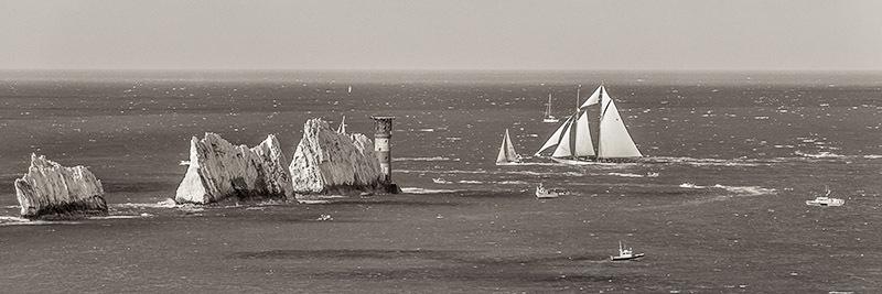 1247 Eleonora at The Needles - Alum Bay and The Needles panoramics