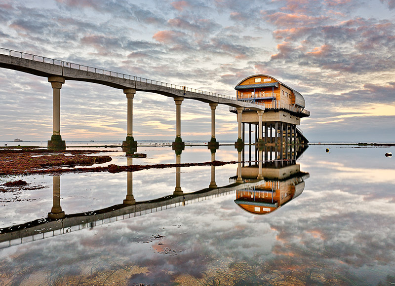 1175 Bembridge Lifeboat Station - Bembridge and East Wight landscape