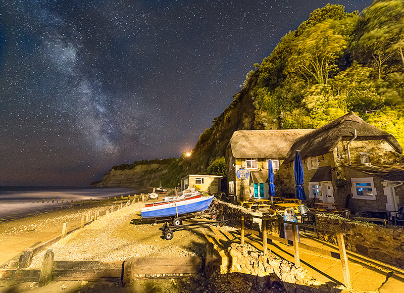 1427 Milky Way Shanklin - The Isle of Wight at Night landscapes