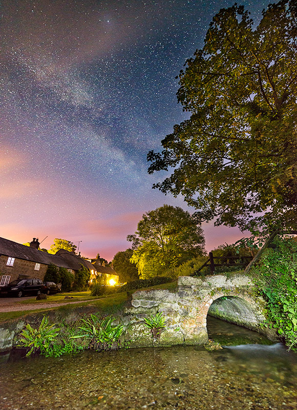 1416 Milky Way Winkle Street - The Isle of Wight at Night landscapes