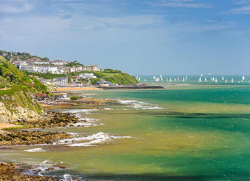 1708 Ventnor and Steephill Cove - Ventnor to St. Lawrence landscapes