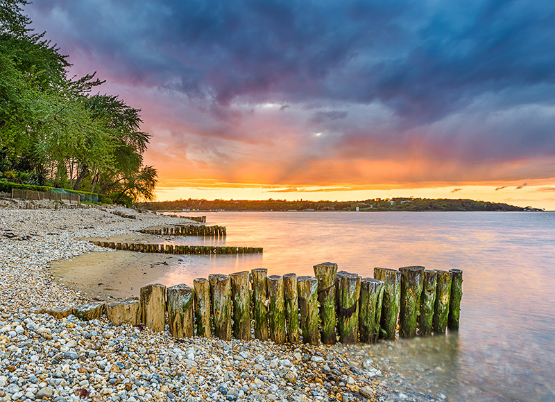 1520 Bembridge Beach - Bembridge and East Wight landscape