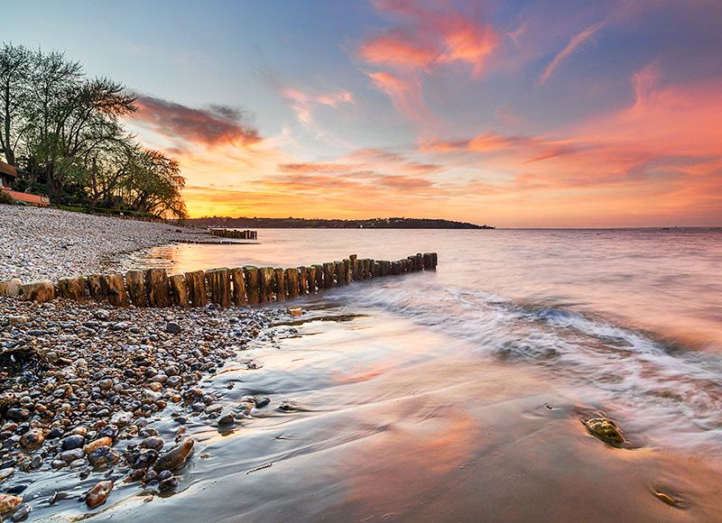 1829 Bembridge Beach - Bembridge and East Wight landscape