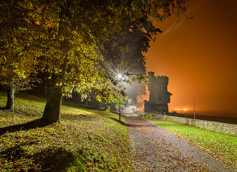 1623 Appley Tower - The Isle of Wight at Night landscapes