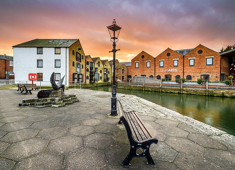 1662 Quay Arts Newport - Cowes, Newport and Carisbrooke landscapes