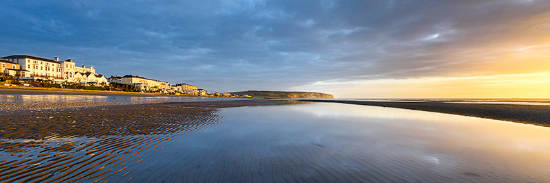 1501 Sandown Bay - Sandown, Shanklin and Godshill panoramics
